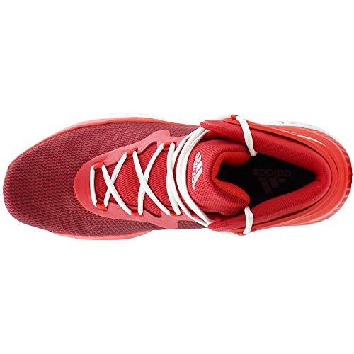 Bounce Scarlet Medios Hombres Zapatos Para Adidas Explosive Metallic Bajos red amp; silver Baloncesto Talla Cordon qAZTEPc