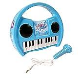 KidPlay Products Little Pianist Singing Musical Karaoke Lights Up Keyboard