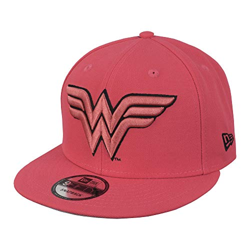 New Era 9FIFTY DC Wonder Woman 950 Snapback Cap - Lava Red - One Size
