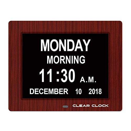 Clear Clock Calendar Optional Impaired product image