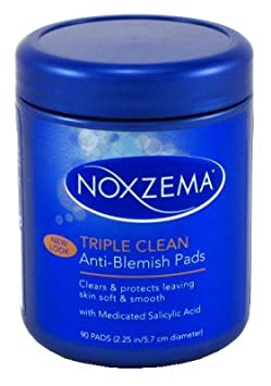Noxzema Ult-Clear Anti-Blemish Pads 90 Count ALBERTO437830