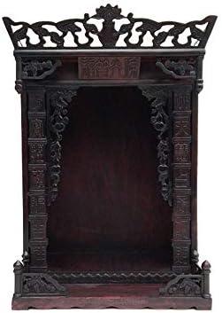 神聖 瞑想、祈り、または観想研究のための祭壇内閣仏教祭壇内閣禅神社祀ら表内閣犠牲用品 LLCC (Size : 12×18in)