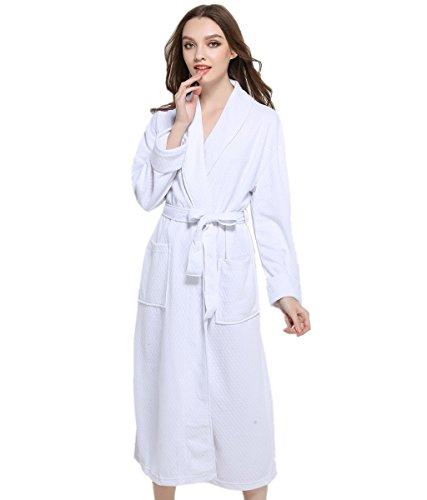 Spa Style Terry Bath Robe - 6