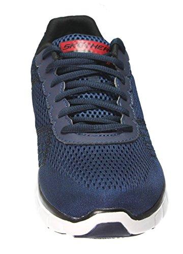 Skechers Sport Männer Synergy Power Switch Memory Foam Athletic Training Sneaker Navy / Rot