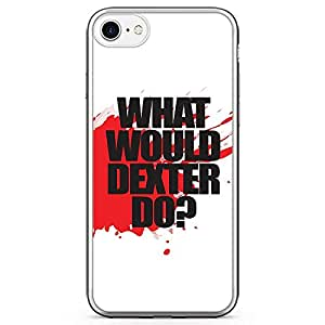 Loud Universe What Would Dexter Do iPhone 7 Case Dexter Quote TV Show Quote iPhone 7 Cover with Transparent Edges