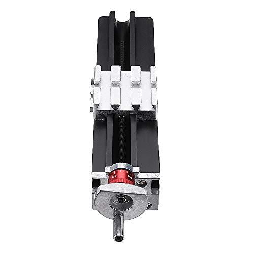 RanDal 200mm Metal Cross Slide Longitudinal Slide Block Z010M For Lathe Feeding Relieving Axis X/Y/Z