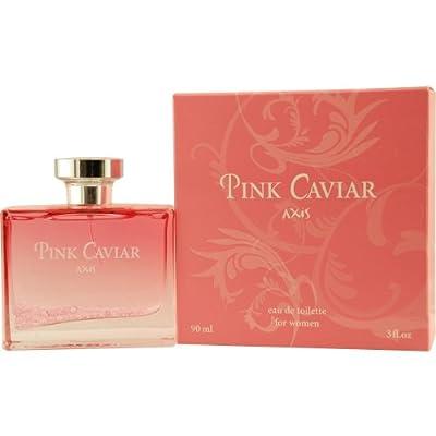 Sos Creations Axis Pink Caviar Eau De Toilette Spray for Women, 3 Ounce