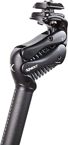 Cirrus Cycles KINEKT 2.1 Aluminum Bike Seatpost with Suspension, Post 27.2 x 350 mm, Rider Weight MD 150-200 lb
