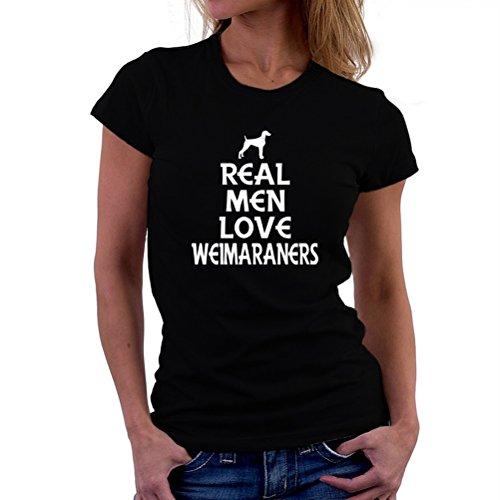Real men love Weimaraner T-Shirt