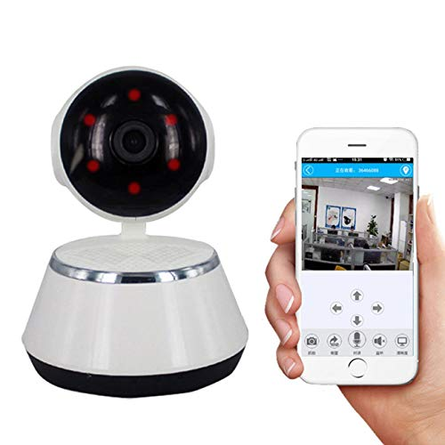(Tookne Phone APP HD 720P Mini IP Camera WiFi Camera Wireless P2P Security Camera Night Vision IR Robot Baby Monitor Support(SD Card Not Included) )