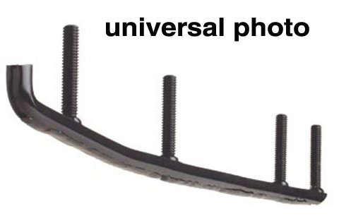 Woodys Wear Bar (1990-2006 POLARIS SHUR-STEER (STEEL/COMPOSITE) HARDWELD WEAR BARS POLARIS, Manufacturer: WOODYS, Manufacturer Part Number: HSP-3180-AD, Stock Photo - Actual parts may vary.)