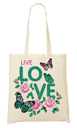 provisions Peaceful ShutUp Loving Life Butterflies Sac tout Sac Fourre à Zwzw7qrSd