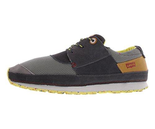 Levis Heren City Runner Fashion Sneaker Donkergrijs