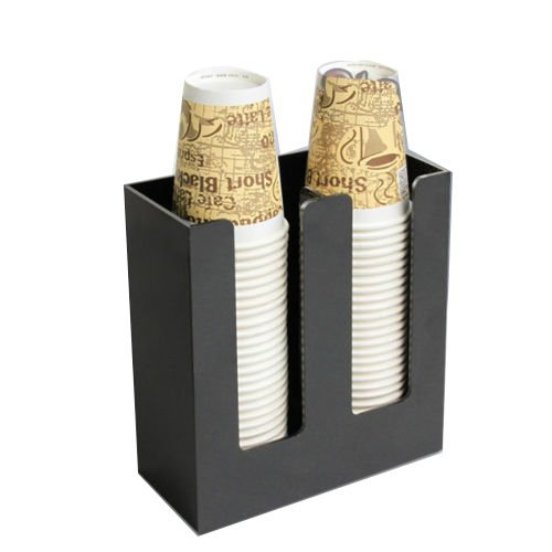 Earlywish Coffee Cup and lid Holder Dispenser Organizer caddy coffee counter display 2sl Early-Wish