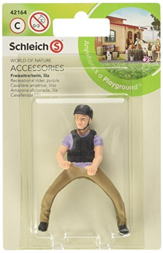 Schleich Recreational Rider Play Set Purple by Schleich