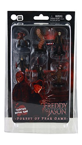 Neca Wizkids Games Freddy Vs Jason - Forest of Fear Collector's Edition Game