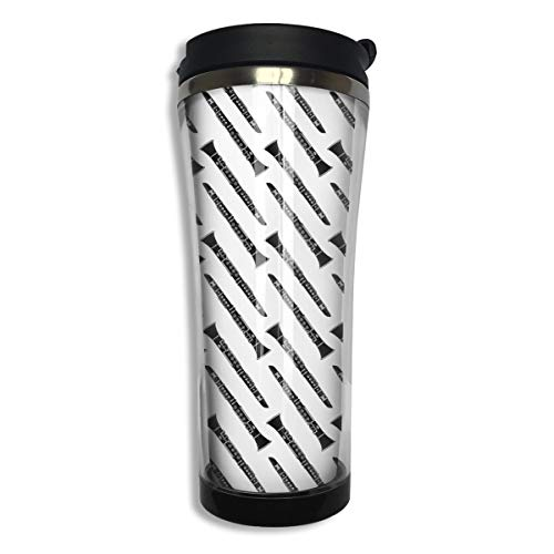14.4 Oz Clarinet Musical Instrument Portable Double Wall Stainless Steel Accompanying Cups Insulation Travel Mug Water Coffee Cup Great for Ice Drink Hot Beverage for Car Home Office School ()