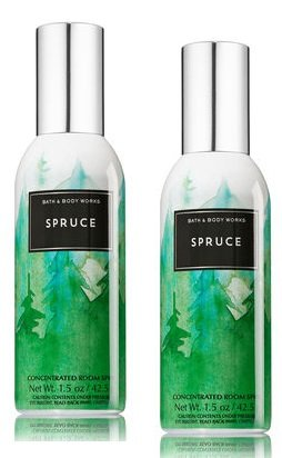 Concentrated Bath (Bath and Body Works 2 Pack Concentrated Room Spray Spruce 1.50 Oz.)