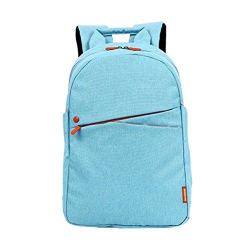ZHRUI Laptop-Rucksack 15,6-Zoll-Satchel Multi Taschen Mädchen Boy School High School College Travel