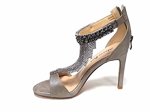 Alma Pena Sandals Fashion en Pewter Women's RpwTFqRZ