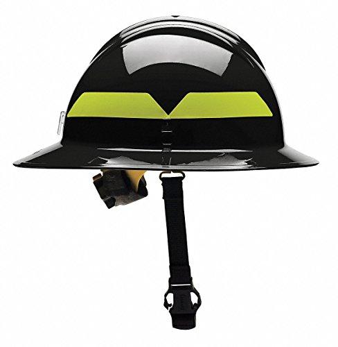 Rescue Helmet - Fire Helmet, Black, Thermoplastic