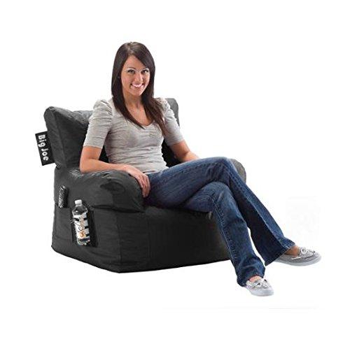 Big Joe Dorm Chair, Limo Black