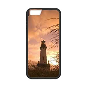 iphone6 4.7 inch Phone Case Black Lighthouse AH1112230