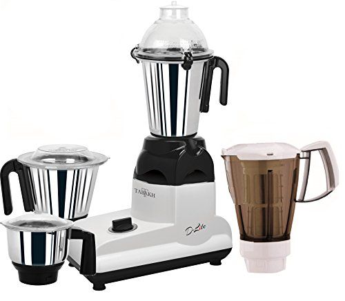 Tabakh D-Lite Pro Indian Mixer Grinder | 3-Jar + Juicer | 750 Watts | 110-Volts