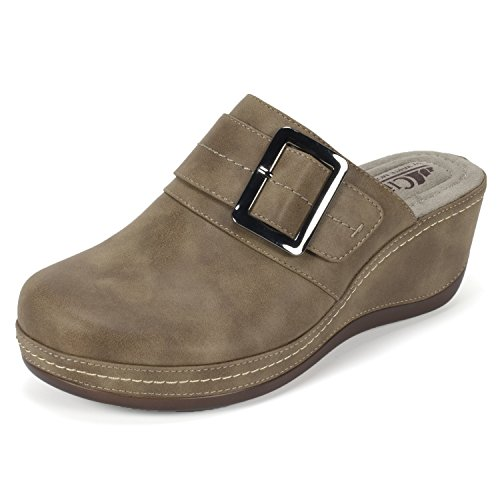 MOUNTAIN Mule BY CLIFFS WHITE Cliffs Women's 'Fabiola' Stone wzgp7qTA