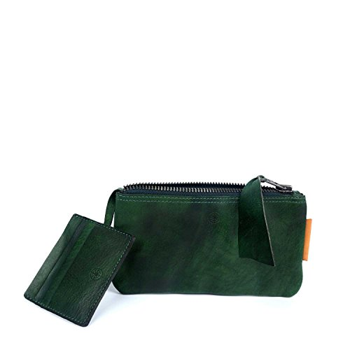 old-trend-leather-clutch-joe-wallet-green
