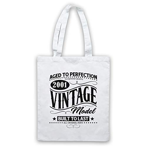 Model 2001 Vintage Born Clothing amp; Icon Art Bolso Birth In Blanco My Date Year qXwIYg4