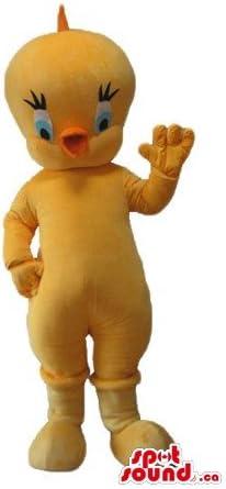 トゥイーティー黄色の鳥の漫画のキャラクターをマスコットカナダの衣装仮装をSpotSound