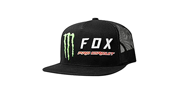 Amazon.com: Fox Racing Monster PC Trucker Gorra ajustable ...