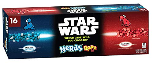 Nerds Rope Star Wars Assorted Singles, 16 Count
