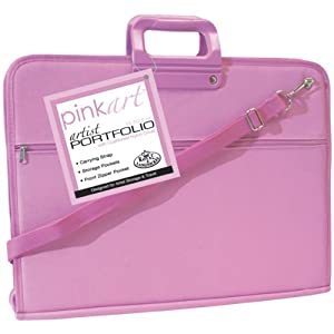 Royal & Langnickel Pink Art Artist Portfolio Case
