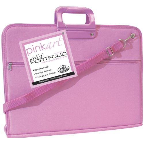 Royal & Langnickel Pink Art Artist Portfolio Case