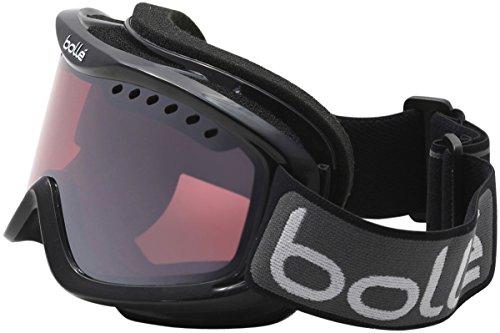 Bolle 20786 Carve Snow Goggles (Black Frame/Vermillon Gun Lens)
