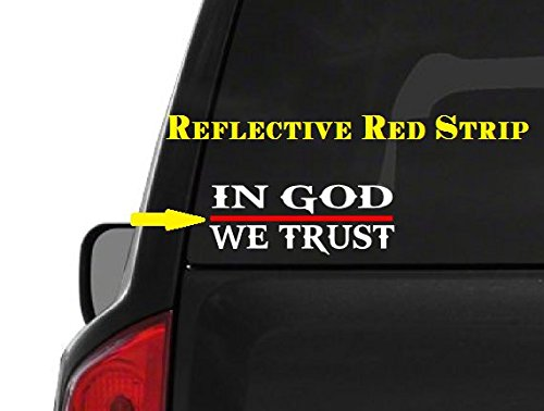 In-God-We-Trust-M48-Thin-Red-Line-Firefighter-Vinyl-Decal-Sticker-Car-Window