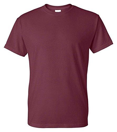 Gildan Mens DryBlend 50 Cotton/50 Poly T-Shirt, XL, Maroon