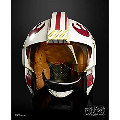 Star Wars The Black Series Luke Skywalker Battle Simulation Helmet Premium Electronic Roleplay Collectible Full Scale Lights & Sounds: Toys & Games