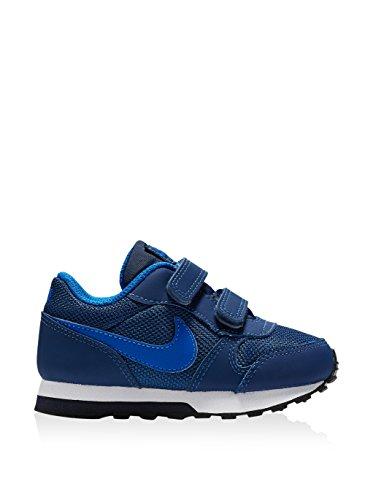 Zapatilla Infantil Nike Md Runner 2 Azul Azul (Coastal Blue / Hyper Cobalt / Dark Obsidian)