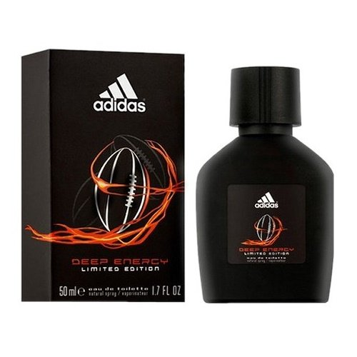 Adidas Deep Energy Eau De Toilette Spray for Men, 1.7 (Adidas Team Force Eau De Toilette)