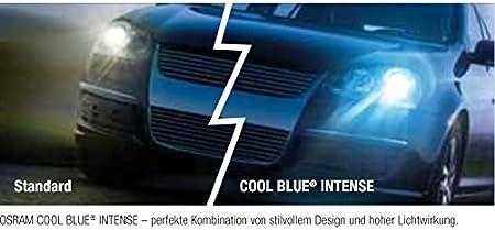 Osram 2x Cool Blue Intense Set H7 55w 12v Xenon Look Blau Auto
