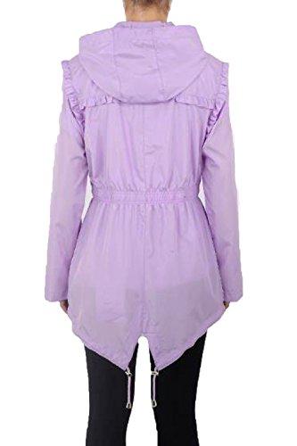 Frill Rave Abrigo Para Lilac Mujer Brave Soul 6zZqXf