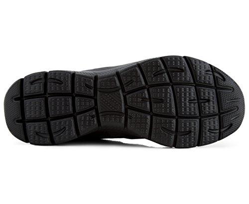 Skechers Kvinnors Sinergy - Fina Snygga Sneakers (7,5, Svart / Svart)