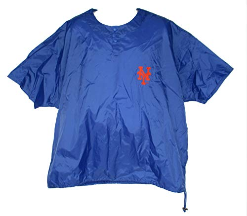 Rawlings Sporting Goods, Company Inc. New York Mets Pullover Men's Size 2X-Large 2XL - Royal Blue & Orange ()