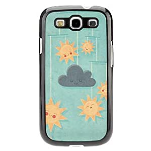 GJY Sun Pattern Hard Case for Samsung Galaxy S3 I9300