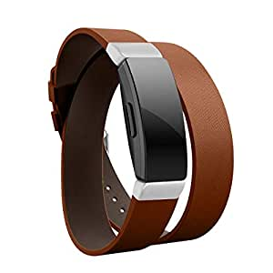 Amazon.com: Leather Bands for Fitbit Inspire/Inspire HR