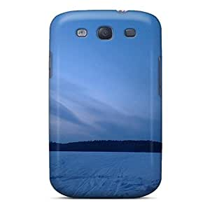 Hot New Sunset Blue Case Cover For Galaxy S3 With Perfect Design
