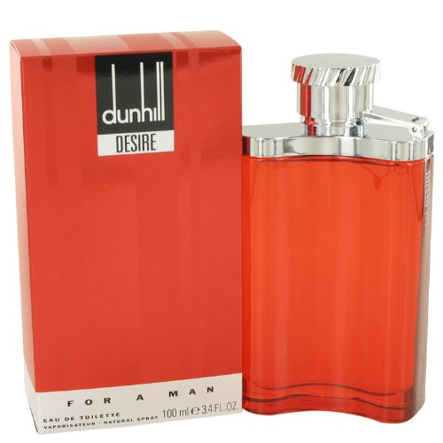 Alfrëd Dûnhïll Desïre Cologné for Men 3.4 oz Eau De Toilette Spray +Free W.Blué Vial ()